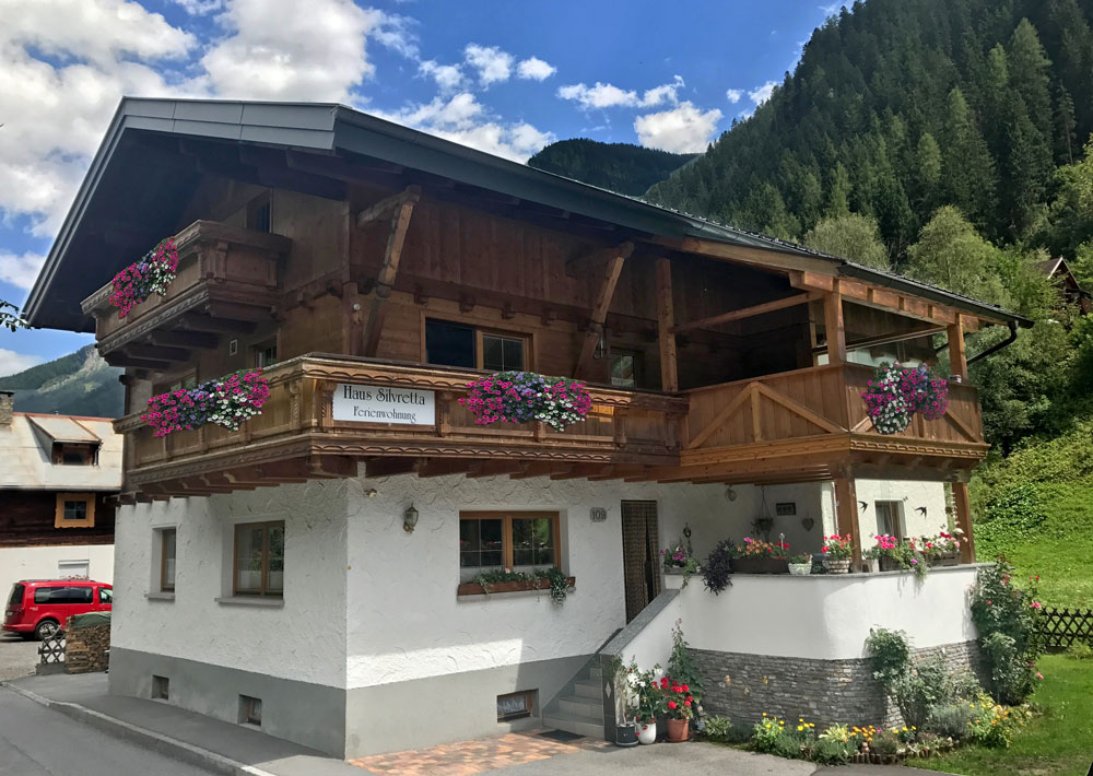 Haus Silvretta, See